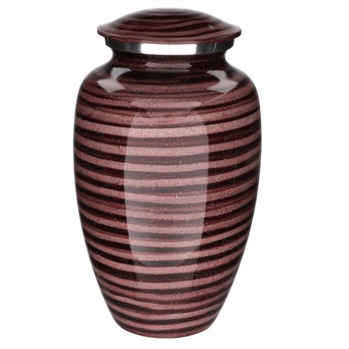 Aluminium cremation urns