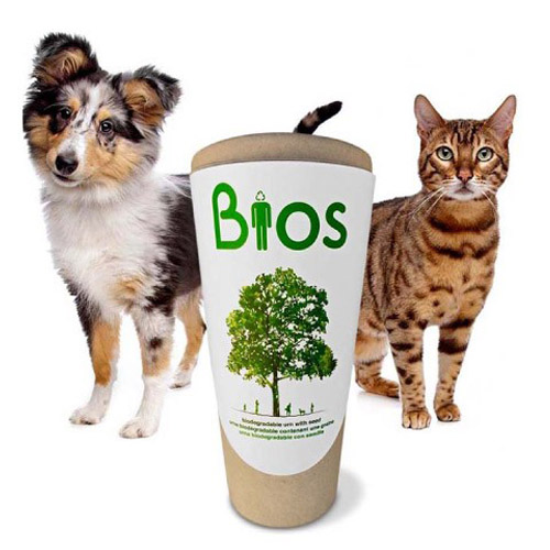 Biodegradable pet urns