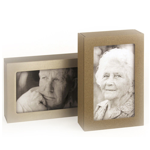 Photo frame cremation urns