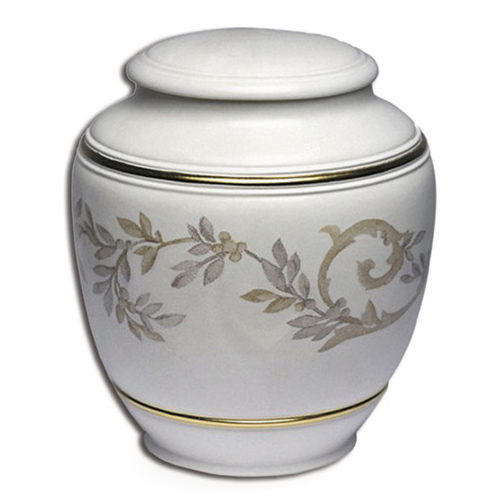 Porcelain keepsake cremation urns