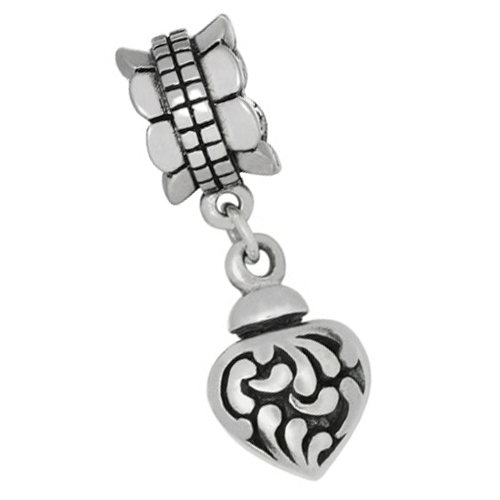Silver ash charms/beads