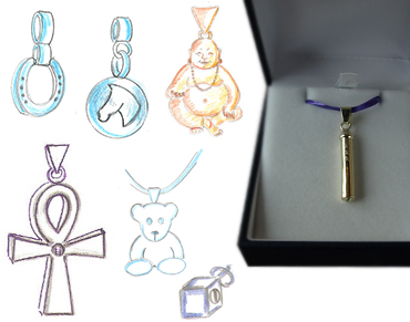legendURN funeral urns and cremation ashes pendants